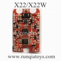 SYMA X22W drone Receiver Board