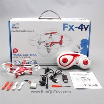 fineco fx-4V quadcopter voice control