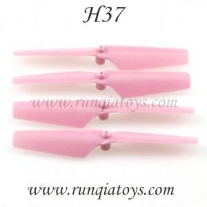 JJR/C H37 quadcopter blades pink