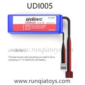 UDIR/C UDI005 Arrow boat Battery 2200mAh