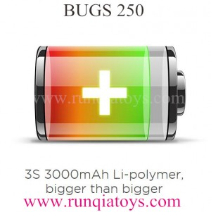 MJXRC BUGS 250 Drone Battery